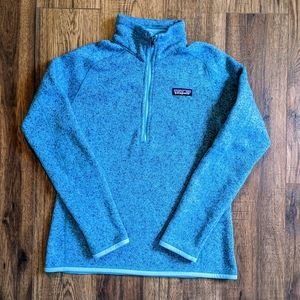 Patagonia Better Sweater Blue Half Zip Small